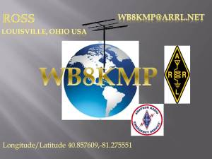 Amateur Radio QSL Card