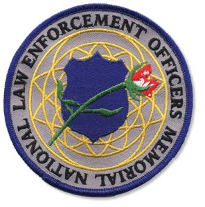 NLEOM logo patch
