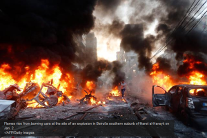 Syria Burning photo
