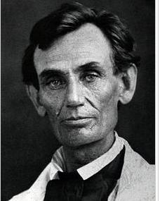 Lincoln 1858
