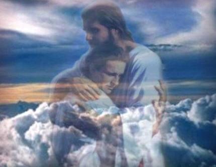 Jesus beckons